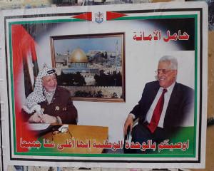 Yasser Arafat and Mahmoud Abbas
